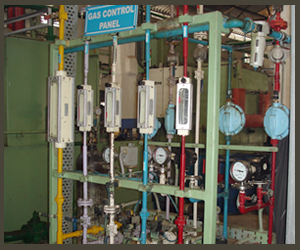 Gas Controll Pannel